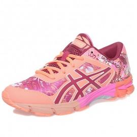 Chaussures Gel Nossa TRI 11 Orange Running Femme Asics
