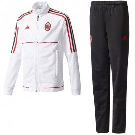 Survêtement Milan AC Football Blanc Garçon Adidas