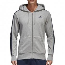Sweat zippé Gris Homme Adidas