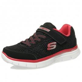 Chaussures Flex Advantage Mast Noir Running Garçon Skechers