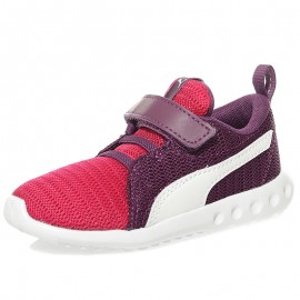 Chaussures Carson 2 V Inf Rose Violet Bébé Fille Puma