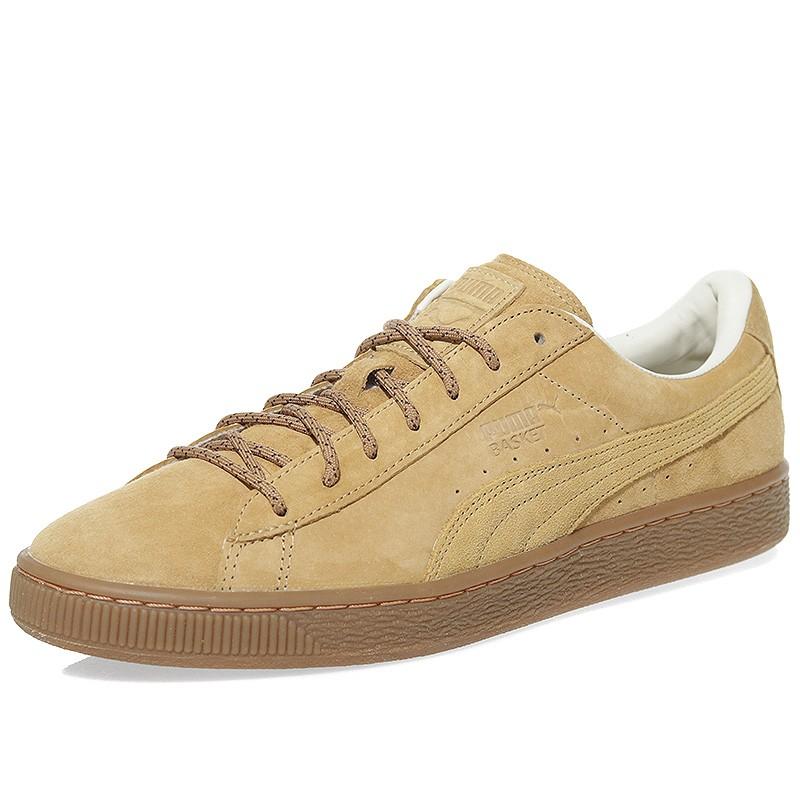 chaussure puma marron