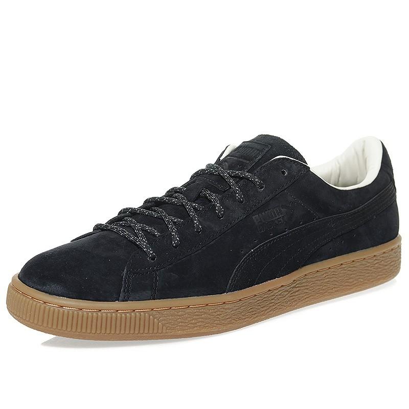 Puma basket classic winterized noir homme | Fanny chaussures