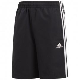Short Woven Noir Garçon Adidas
