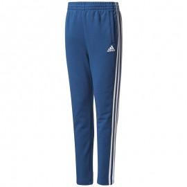 Pantalon en Coton mélangé Bleu Garçon Adidas