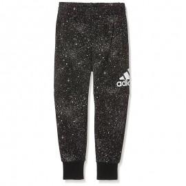 Pantalon doublé Polaire Noir Garçon Adidas