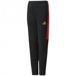 Pantalon Entrainement Noir Garçon Adidas