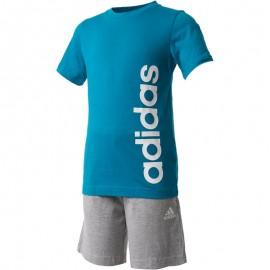 Ensemble Bleu Garçon Adidas
