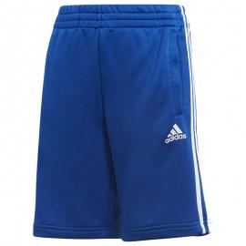 Short Entrainement Bleu Garçon Adidas