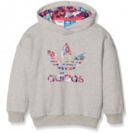 Sweat à capuche Fille Adidas