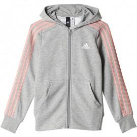 Sweat à capuche Gris Fille Adidas
