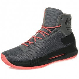 Chaussures Drive 4 Gris Basketball Homme Under Armour