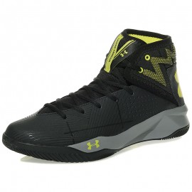Chaussures Rocket 2 Noir Basketball Homme Under Armour