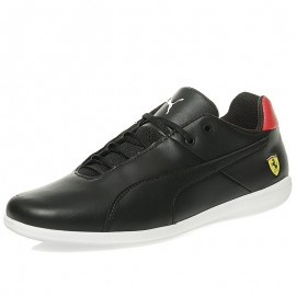 Chaussures Scuderia Ferrari Future Cat Casual Noir Homme Puma
