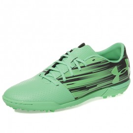 Chaussures Spotlight TF Vert Football Homme Under Armour