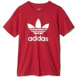 Tee Shirt Trefoil Rose Fille Adidas