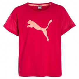 Tee shirt Sport Rose Fille Puma