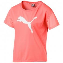 Tee shirt Sport Orange fluo Fille Puma