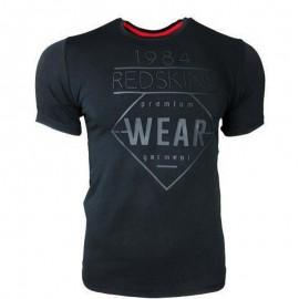 Tee-shirt Booster Noir Garçon Redskins