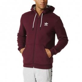 Sweat Hoody Violet Homme Adidas