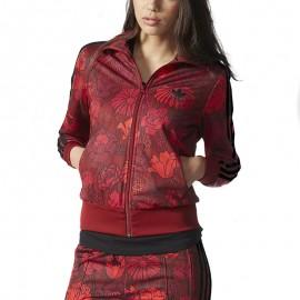 Sweat Firebird Rouge Femme Adidas