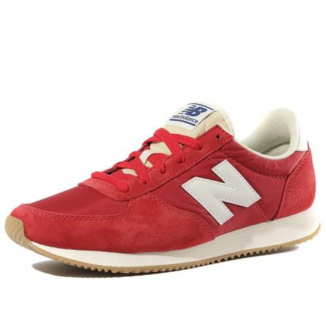 new balance u220 femme rouge