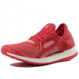 Chaussures Pure Boost X Rouge Running Femme Adidas
