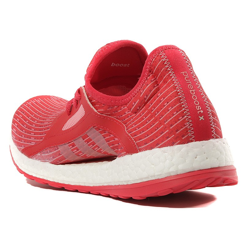Chaussures Pure X Rouge Femme Boost Adidas Running b7gIm6vyYf