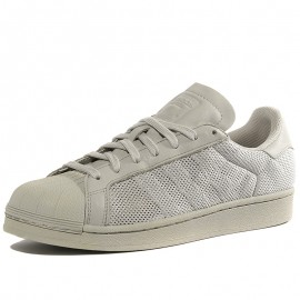 Chaussures Superstar Triple Gris Homme Adidas