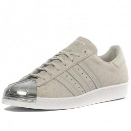 Chaussures Superstar 80S Metal Toe Beige Homme Adidas