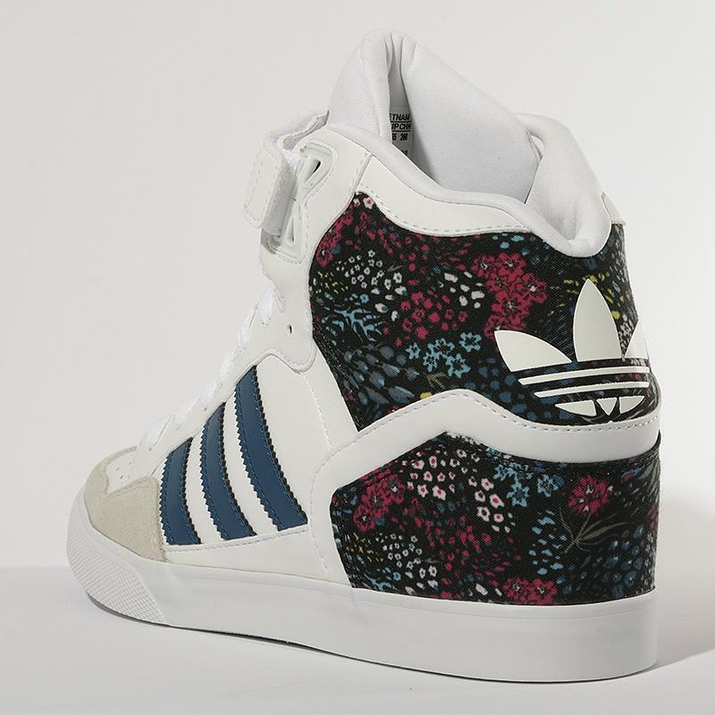 Chaussures Extaball Up Blanc Femme Adidas