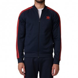 Veste Superstar TT Marine Homme Adidas