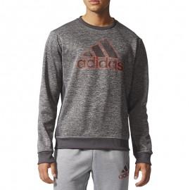 Sweat Polaire Gris Homme Adidas