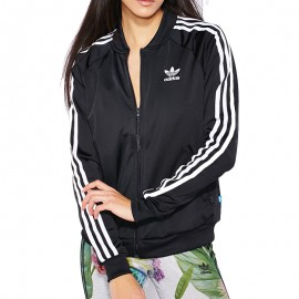 Veste Supergirl TT Noir Femme Adidas