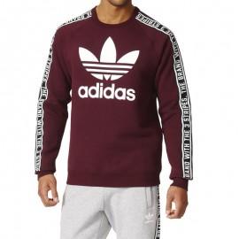 Sweat Crew Bordeaux Homme Adidas