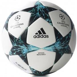 Ballon Officiel Ligue des Champions 2017-2018 Blanc Bleu Football Adidas