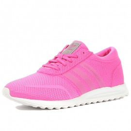 Chaussures Los Angeles Rose Femme Fille Adidas