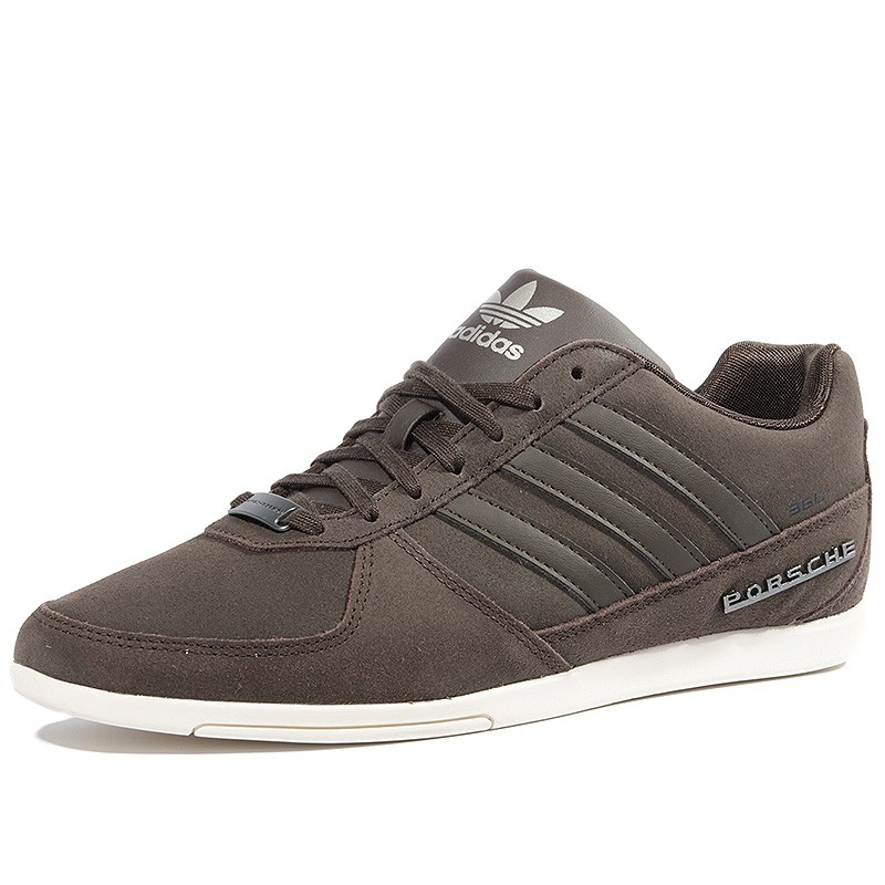 chaussures porsche 360 1 2 marron homme adidas. Black Bedroom Furniture Sets. Home Design Ideas