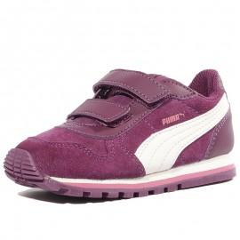 Chaussures Infinity Street Runner Violet Bébé Fille Puma