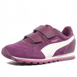 Chaussures Street Runner Violet Bébé Fille Puma