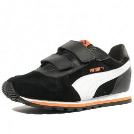 Chaussures Street Runner Noir Garçon Puma
