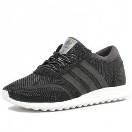 Chaussures Los Angeles Noir Garçon Fille Adidas