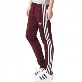 Pantalon Superstar Bordeaux Femme Adidas