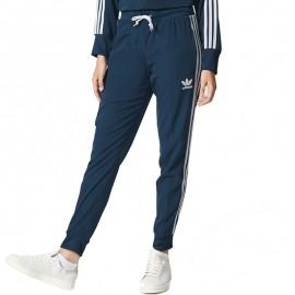 Pantalon Regular Bleu Femme Adidas