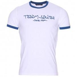 Tee Shirt Ticlass 3 Homme Blanc Teddy Smith