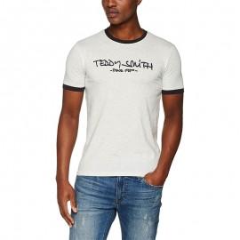 Tee Shirt Ticlass 3 Homme Gris Teddy Smith