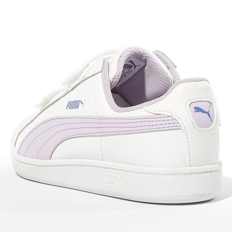 Smash L Blanc V Fille Fun Puma Chaussures y7g6Ybf