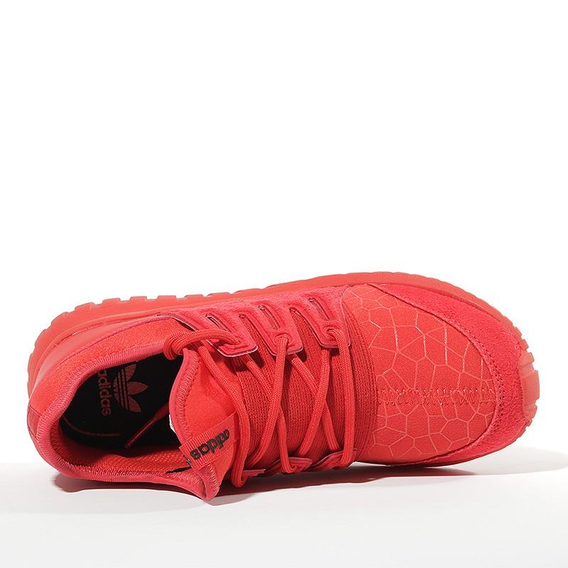 Chaussures Tubular Radial Rouge Garçon Adidas