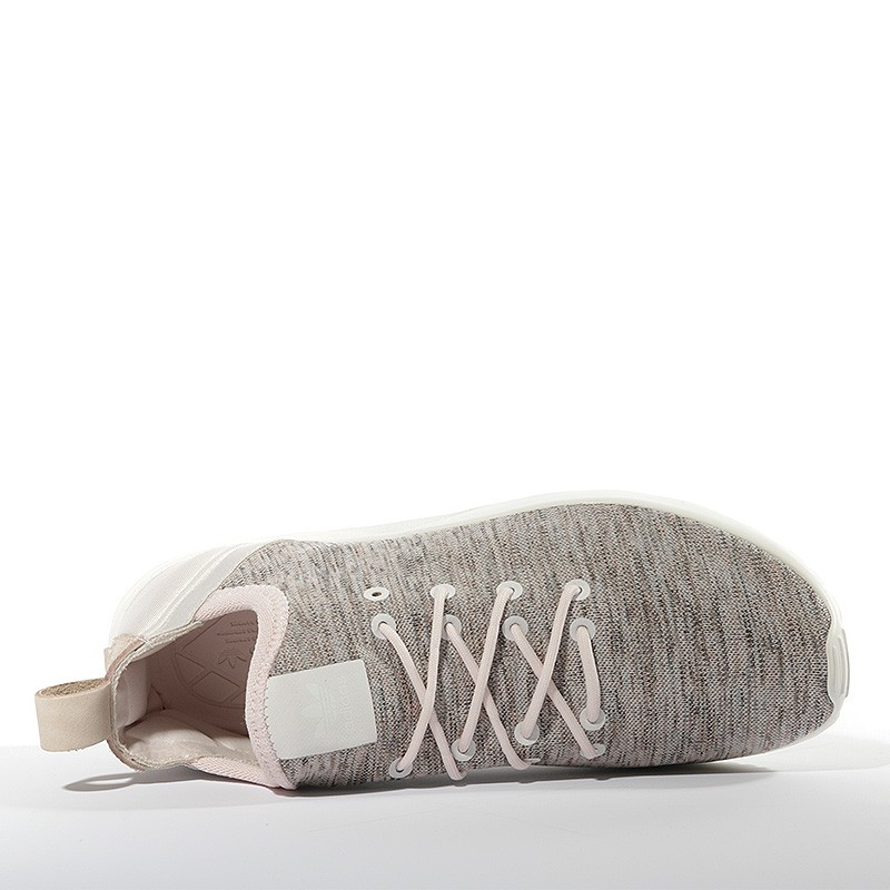 Chaussures ZX Flux ADV Virtue Socks Rose Femme Adidas