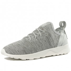 Chaussures ZX Flux ADV Virtue Socks Gris Femme Adidas